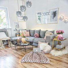 Gute Nacht ihr Lieben - Mit diesem wunderschönen Bild der lieben @easyinterieur verabschiede ich mich in das Land der Träume Ich ziehe den Hut vor ihr wie kann man nur so ein Händchen fürs Detail haben !? Ich suche gerade nach neuen Ideen für unser Haus und dafür ist ihr Account einfach grandios Danke für deine stetige Inspiration - Architecture and Home Decor - Bedroom - Bathroom - Kitchen And Living Room Interior Design Decorating Ideas - #architecture #design #interiordesign #homedesign…