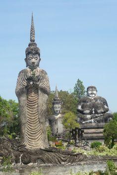 Weirdo sculpture park, Nong Khai