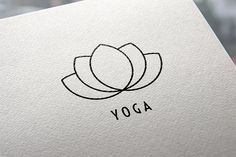 Yoga logo by Sonne on @creativemarket