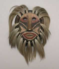 Pascola Mask, Mayo and Yaqui Indians, Sonora, Mexico, 1931