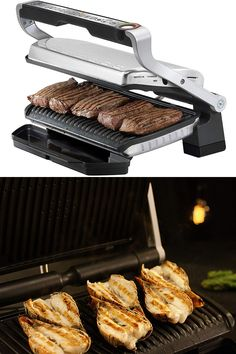T-fal OptiGrill XL Stainless Steel Large Indoor Electric Grill with Removable and Dishwasher Safe Plates, Silver Best Electric Grill, Outdoor Electric Grill, Electric Grills, Outdoor Dog, Outdoor Dining, Indoor Outdoor, High Table And Chairs, Front Porch Design, George Foreman