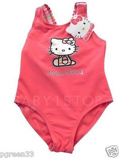 Hello kitty baby girls #swimming #costume swimsuit 3-6 6-9 9  sc 1 st  Pinterest : baby swimming costumes  - Germanpascual.Com