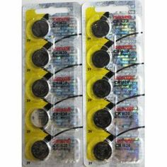 "maxell CR1620 3V Lithium Coin Cell 10 pack ""New HOLOGRAM PACKAGE"" by Maxell. $10.95"