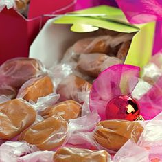 Homemade Candy Gifts from Gooseberry Patch | Nana's Christmas Caramels | MyRecipes.com