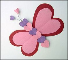 Heart Butterfly for Valentine's Day