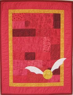 Harry Potter Gryffindor Cuddle Quilt by BadBabyQuilts on Etsy ---- I could make this!