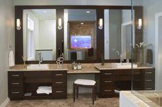 Espresso and Chrome - contemporary - bathroom - other metros - Seura