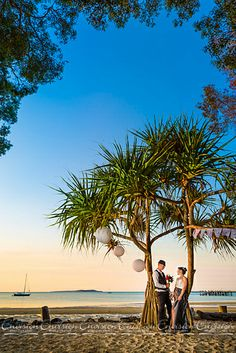 Sunset Beach, Kingfisher Bay Resort, Fraser Island!