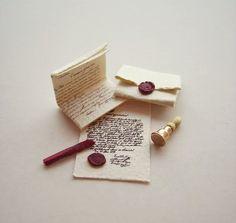 Very nice miniature sealing wax set