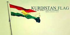 Kurdistan flag always high  ئاڵای کوردستان هەمیشە بەرزە ♡♥♡