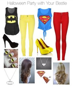 I love this!! I get the batman and kat gets the superman