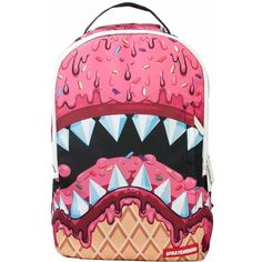 Sprayground - Ice Cream Shark Dlx (2.667.855 VND) ❤ liked on Polyvore 51fa6d082a