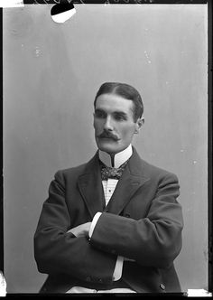 Tasker, June 1898 - talk about having the ideal name for someone with such a (seemingly) stern expression. Victorian Gentleman, Vintage Gentleman, Victorian Men, Victorian Fashion, Vintage Fashion, Men's Fashion, Vintage Photographs, Vintage Images, Vintage Men