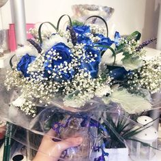 great vancouver florist Something special. What about a #bluerose #bouquet ?  #TGIF #sunflowerflorist #vancity #yvr #flowers #blue #roses #babysbreath #vancouver @vancouverflower by @juliesjuly_flowers  #vancouverflorist #vancouverflorist #vancouverwedding #vancouverweddingdosanddonts