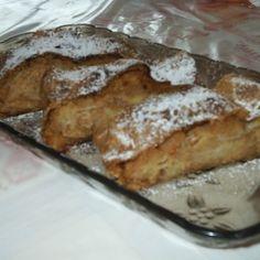 Gúľaná štrúdla French Toast, Breakfast, Food, Basket, Morning Coffee, Essen, Meals, Yemek, Eten