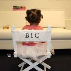"""See Blue Ivy Carter In Her Official """"BIC"""" Chair!"""