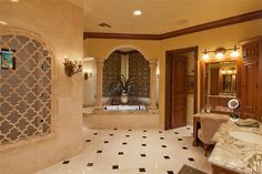 Dream home bathroom with all the space you could want.