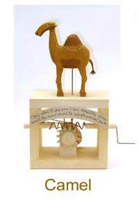 Automata Camel by Neil Hardy Kinetic Art, Puppets, Camel, Animation, Pinocchio, Toys, Gears, Fun, Animals