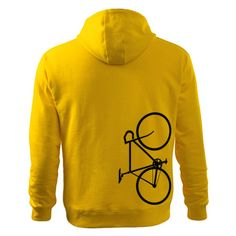 Bicycle Men's Hooded Sweater In many colours by DrasiShop on Etsy