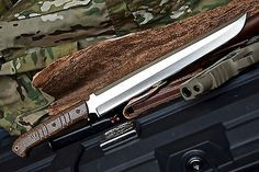 CFK USA iPak Survival Custom Handmade D2 TANTO Yoshimitsu Wakizashi Knife V2 in Collectibles, Knives, Swords & Blades, Fixed Blade Knives | eBay