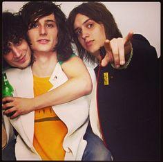 Fabrizo Moretti, Nick Valensi, and Julian Casablancas!!! The Strokes!!! I've had crush on all 3