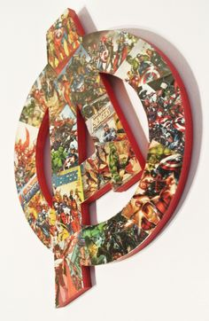 Avengers Wall Plaque (made to order) by helloskywalker on Etsy