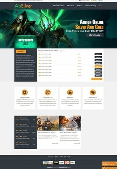 AOSilver Online Store - Best Choice For Albion Online Silver: Welcome to AOSilver - the Best Albion Online Silve...