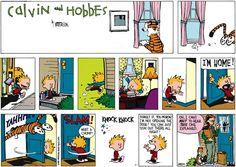 Calvin and Hobbes comic for Sunday Jun/01/2014