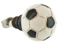 Every soccer player needs this door knob!
