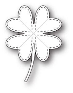 Poppystamps Craft Die - Lucky Clover Craft Die