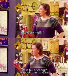 Want a bit, want a bit of this Miranda quote! Such fun! (btw I'm talking in quotes from the show, I'm not crazy...)