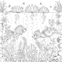 A Coloring Book For Adults, Because Everyone Deserves To Unleash Their Inner Creative