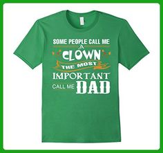 Mens Some People Call Me A Clown T-shirt Important Call Me Dad  2XL Grass - Relatives and family shirts (*Amazon Partner-Link)