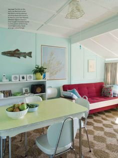 House of Turquoise: New Zealand Coastal Cottage