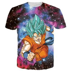 Classic Anime Dragon Ball Z Super Saiyan T shirts Women Men Hipster 3D T shirt Goku/Vegeta tshirts Summer Casual Tops Tees 3D001