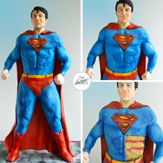 60 cm tall Superman Cake!! by TheCakeProjectCH