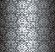 FOTOTAPETA: Srebrny tapeta, vintage luxury (4647936655)