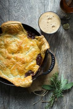 A rich, hearty steak and ale pie. This is the ultimate slow cooked beef pie recipe and perfect for a dinner party or the family. The best I've ever tasted Steak Ale Pie, Steak And Ale, Beef And Ale Pie, Steak And Guinness Pie, Pie Recipes, Dinner Recipes, Cooking Recipes, Irish Recipes, Skillet Recipes