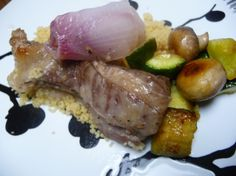 Easy recipe for Greek Roasted Lamb and couscous.
