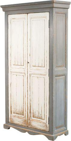 Sarreid Wooden Tall Cabinet