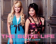 Brenda Song and Ashley Tisdale. Life has changed for them a little bit since The Suite Life started. Hard to believe Miss Song is gonna be a mother with Miley Cyrus' brother. It's kindof incestious over there at Disney, isn't it?