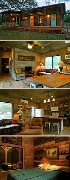 Built by Reclaimed Space from salvaged materials at their facility in Austin, TX;