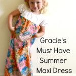 Gracie's Must Have WINTER Maxi Dress - Simple Simon and Company