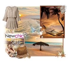 """""""Newchic.com - Contest!"""" by asia-12 ❤ liked on Polyvore featuring Ray-Ban and newchic"""