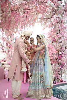 8 Bridal Lehenga Colours that will be big in 2018 #bride#lehenga#lehengacolors#bridalwear#indianweddings