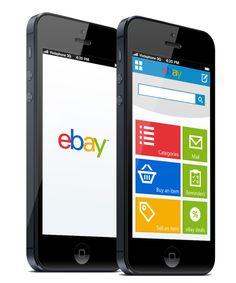 eBay app redesign by Craig Johnson, via Behance