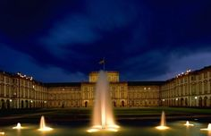 Mannheim, Germany. Castle which is now a University