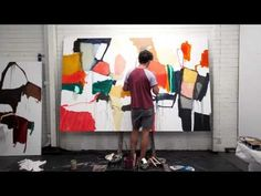 ▶ Waldemar Kolbusz Painting Time-lapse - YouTube