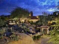 27950 103RD Place Randy Arnett home with beautiful views of the 17th hole, city lights, sunsets and Pinnacle Peak Estancia -Arizona Golf Communities | AZ Golf Homes