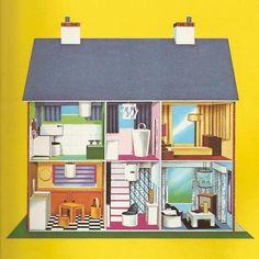 195 Best Dollhouse Illustrations Images Little Cottages